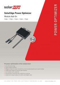 Brochure Optimizer P300 - P500