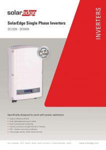Brochure SE2200 - SE6000