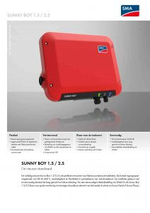 SunnyBoy 1.5 -2.5