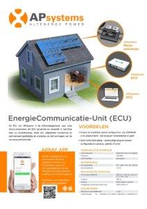 APsystems ECU EMA Datasheet
