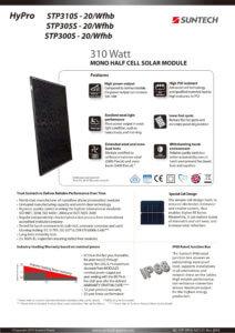 Suntech 310Wp Mono Full black