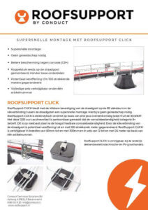 Roof Support Datasheet